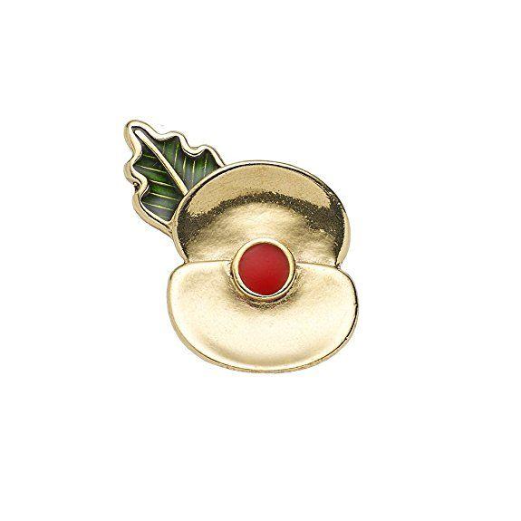 The Royal British Legion Passchendaele 100 Poppy Lapel Pin | Jewelry