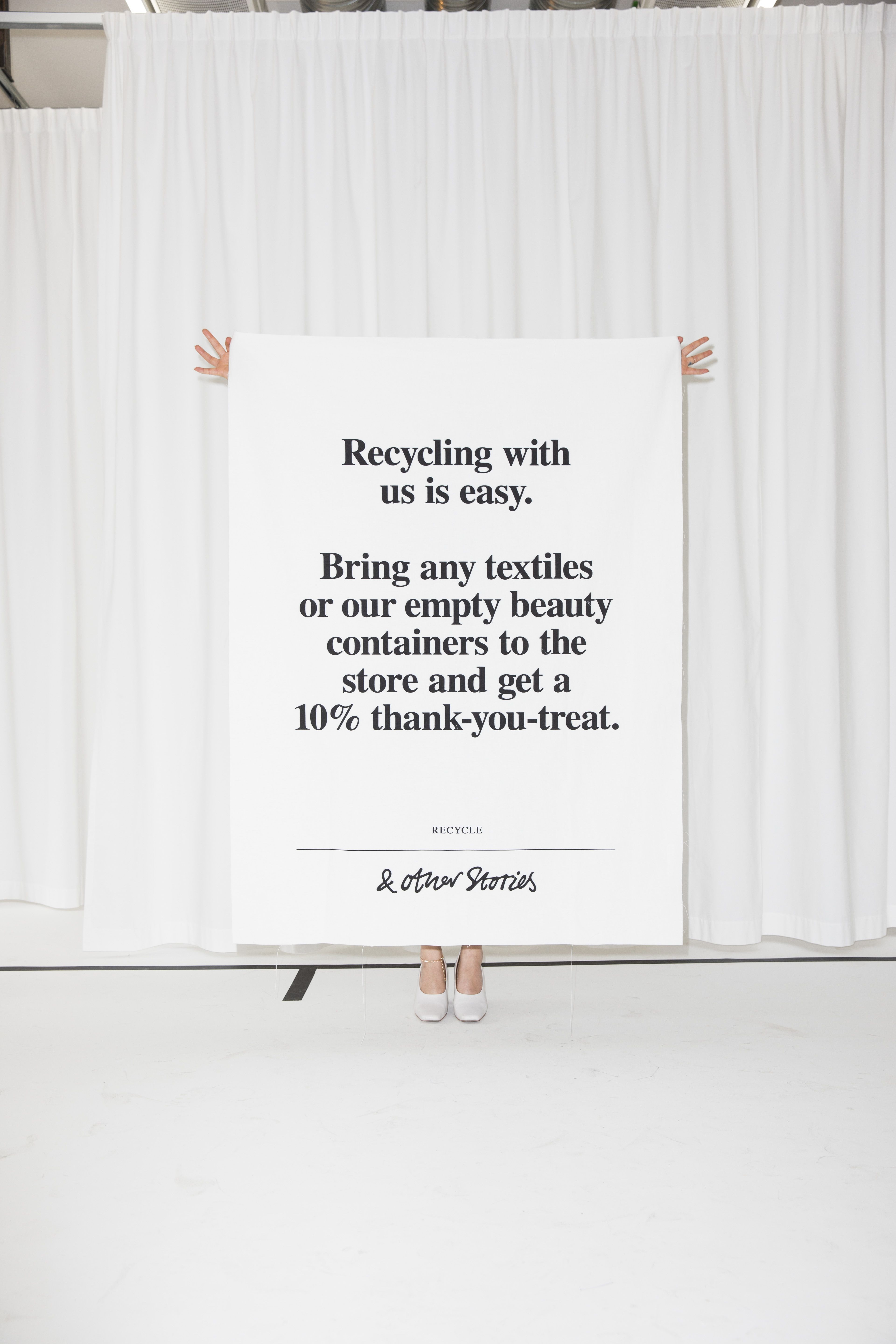 other stories recycling with us is easy