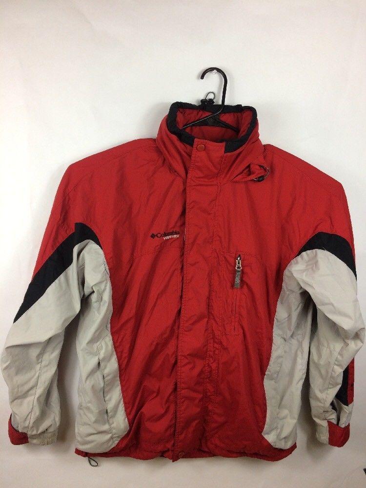01c91a26f Columbia Mens Vertex Bugaboo Core Interchange Mens Red Ski Jacket ...