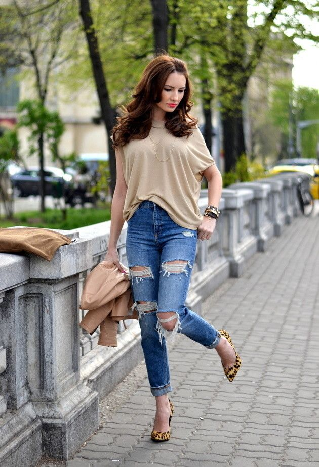 e2b7d10cdc588b 18 Stylish Street Style Outfit Ideas with Blouses | Closet | Fashion ...