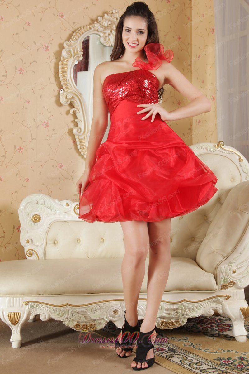 red flower girl dresses cheap