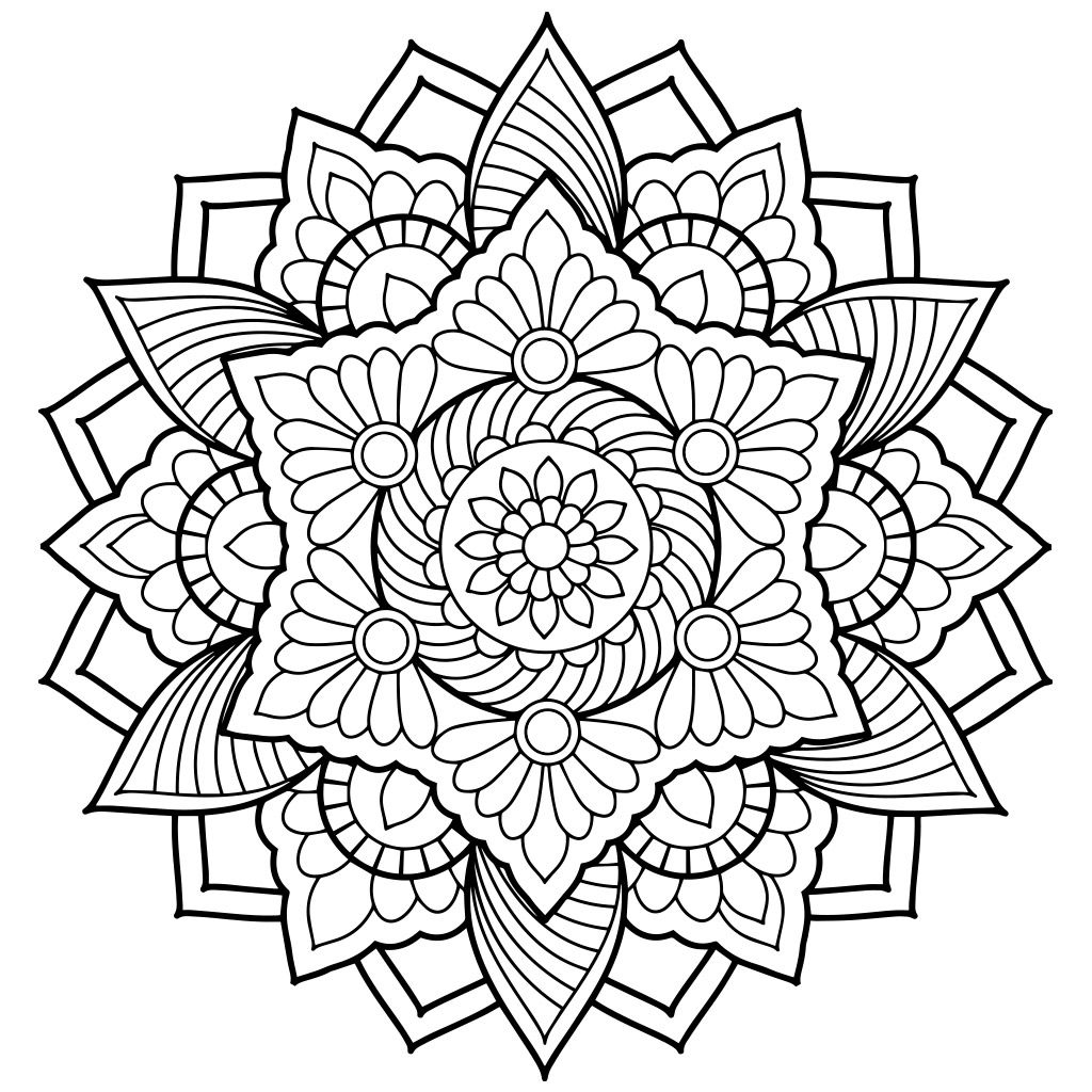 Mandala Coloring Pages Abstract Coloring Pages Mandala Coloring Books Mandala Coloring