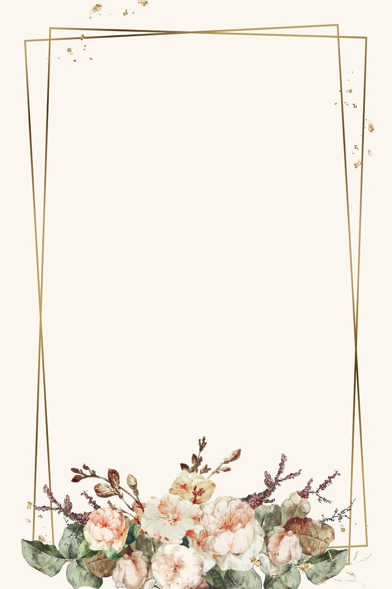 Download premium vector of Vintage floral frame il