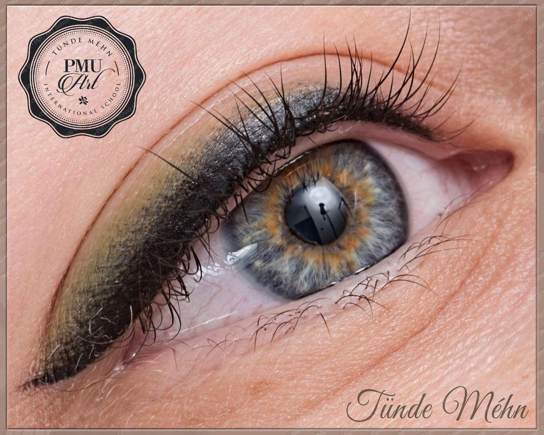 Eyes PMU Art School Eyeliner tattoo, Permanent eyeliner