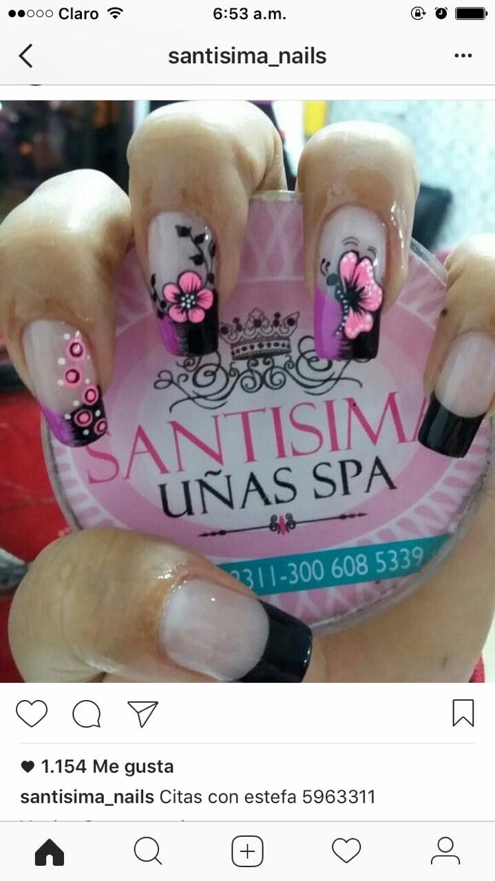 Pin by an on uñas | Pinterest | Manicure, Pedicures and Nail nail