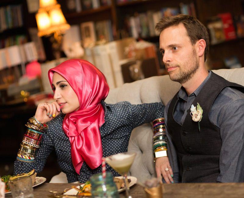 Ramson Riggs su žmona Tahereh Mafi
