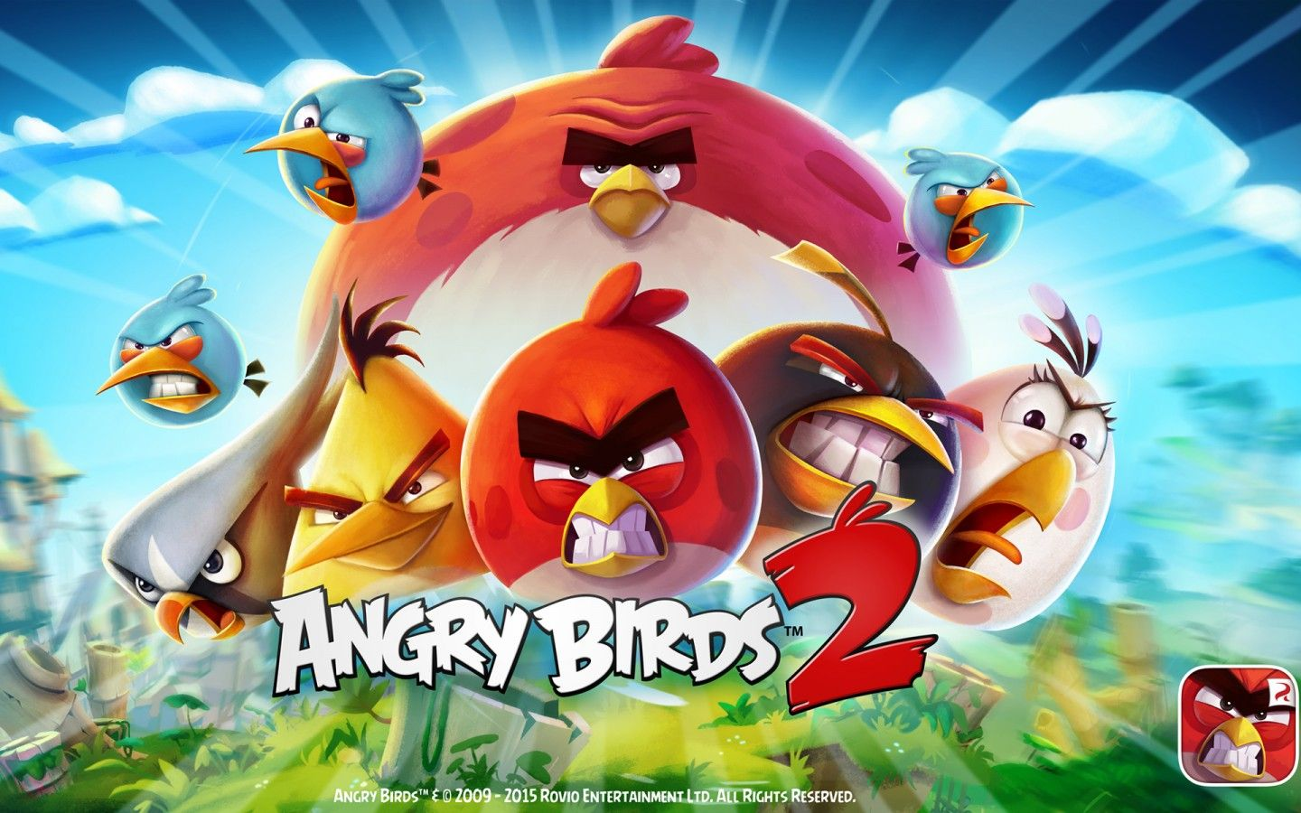 Angry Birds 2 Top Hd Full Free Wallpaper Ui Angry Birds 2 Game