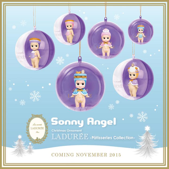 Sonny Angel Laduree Christmas series 2015 #sonnyangel #sonnyangels #sonnyangeljapan #sonnyangelmania #kewpie #sinnyangelid #sonnyangelbarcelona #blackout #blackoutbcn #christmas #laduree