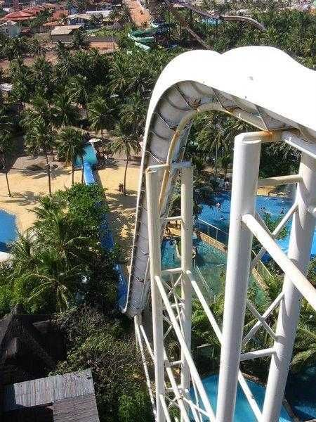 The Insano At Beach Park Brazil The Highest Most Extreme Water Slide In The World Mitchell You Are Not All Water Slides Big Water Slides Practical Travel