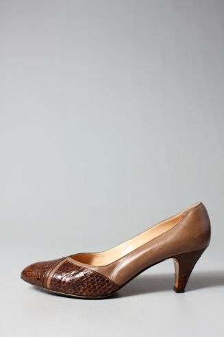 The Brown Nevada Pumps