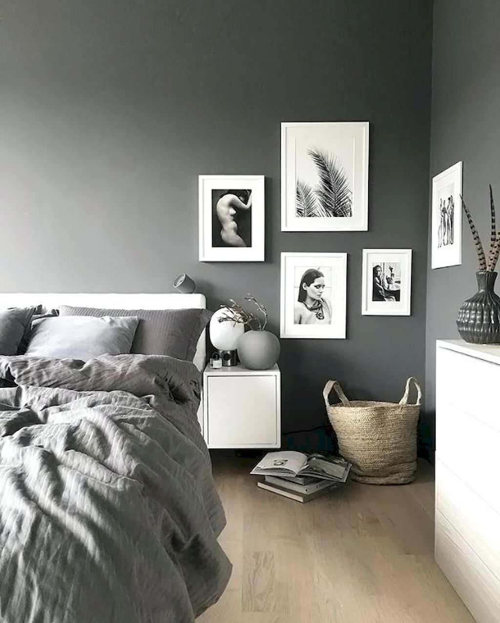 Easy Decor Hacks To Make Stunning Bedroom Design Elonahome Com Inspiration Stylish Grey
