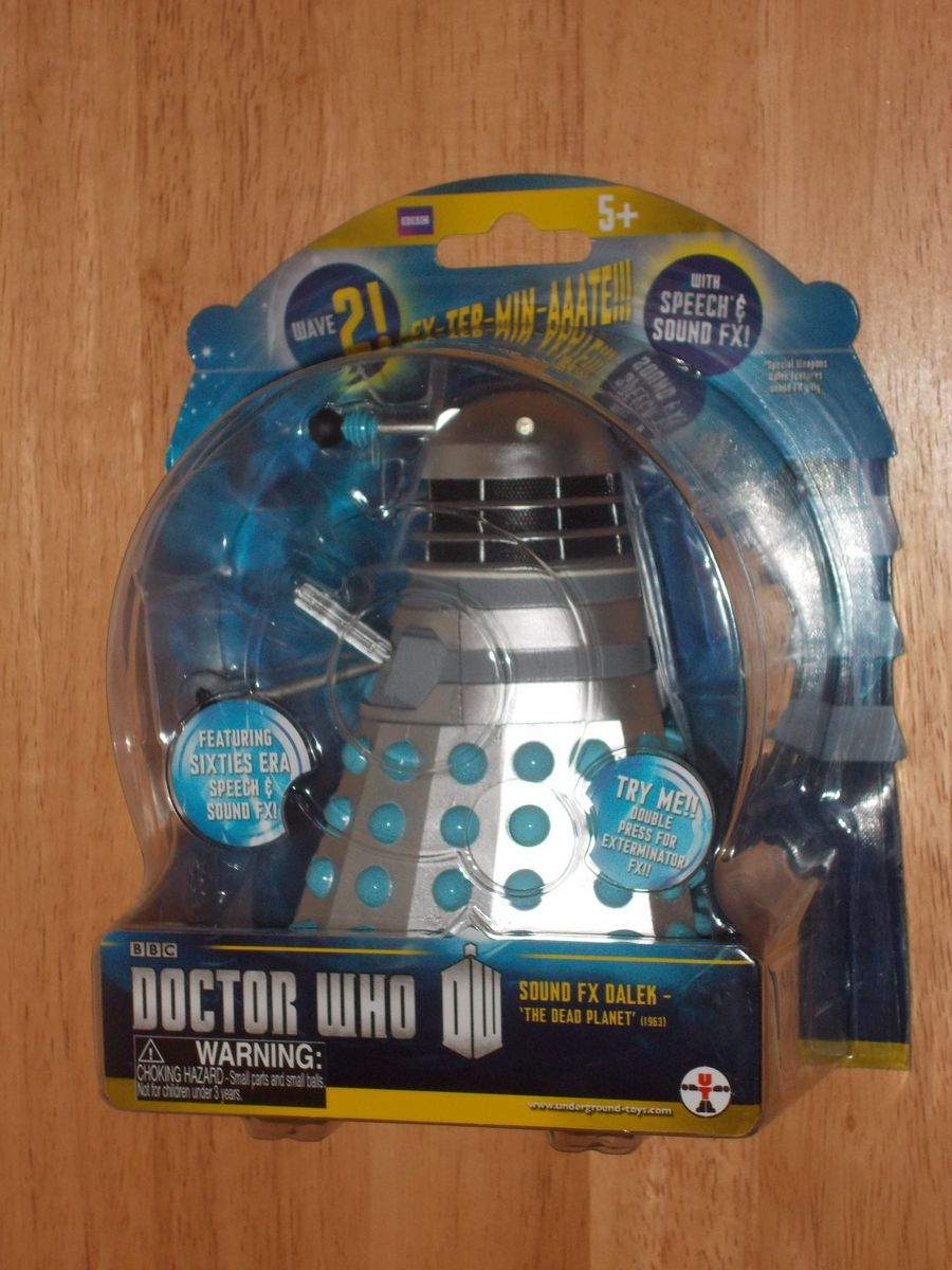 Doctor Who Talking Dalek 5-Inch Action Figure: The Dead Planet (1963)