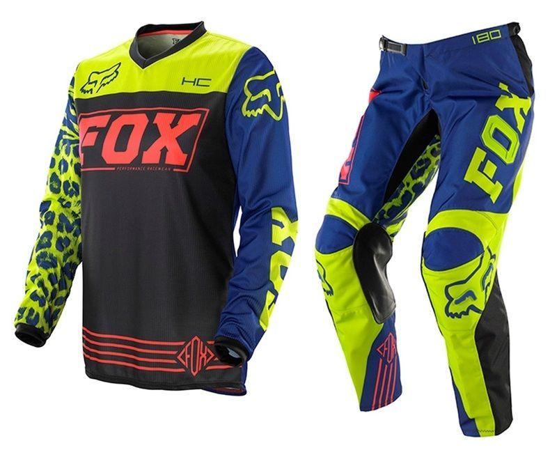 Fox Racing 180 Falcon Riding Jersey Men/'s Motocross//MX//ATV//BMX//MTB Dirt Bike 17