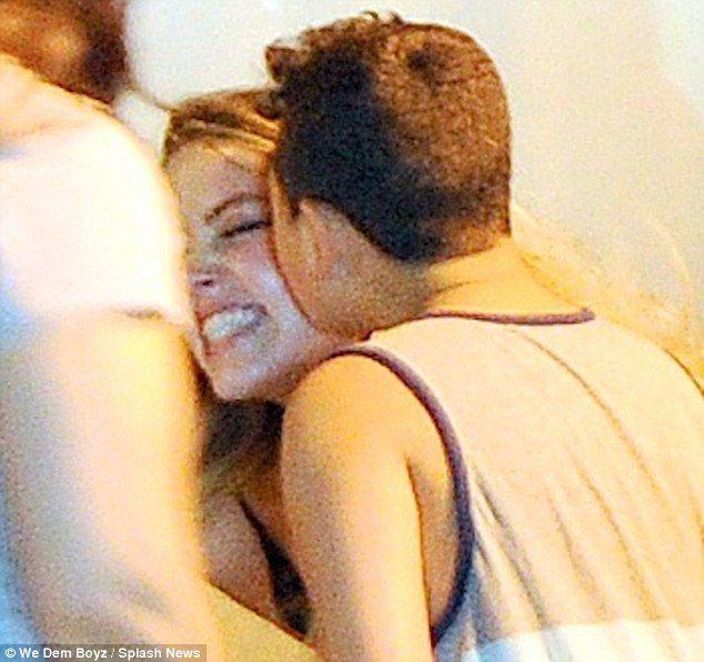 Amber Heard is kissed by overzealous male fan outside her NYC hotel Amber Heard  #AmberHeard