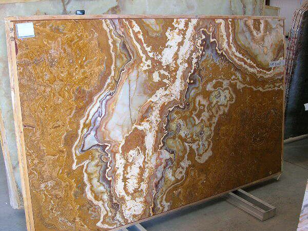 Rosso Onyx Slab Close Up Black Granite Countertops Granite