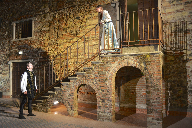 Romeo e Giulietta spettacolo itinerante che partir dal