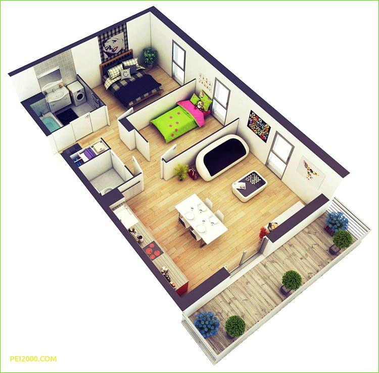 22 Inspirasi Denah Rumah 3 Kamar Rumah Minimalis Desain Rumah Denah Rumah