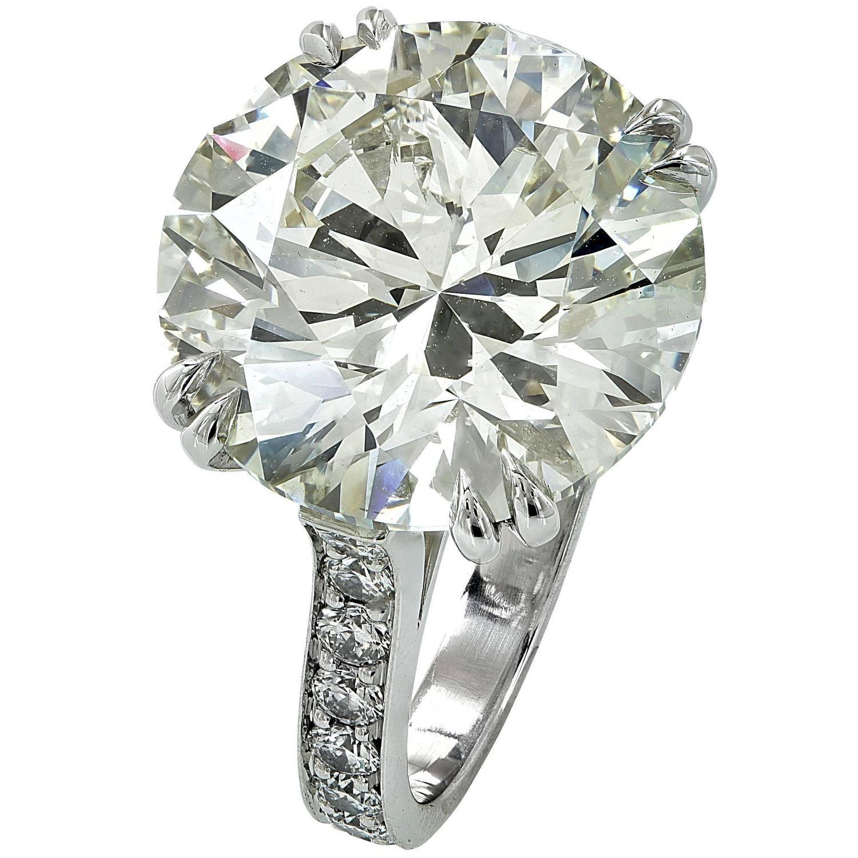 13 50 Carat Diamond Platinum Engagement Ring Platinum Diamond Engagement Rings Platinum Engagement Rings Vintage Engagement Rings