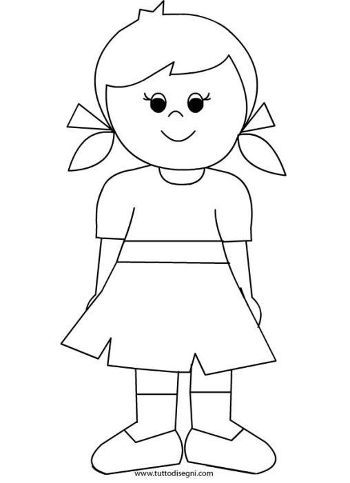 Bambina 2 idee per la classe colorir desenhos para - Artigianato per cristiani ...