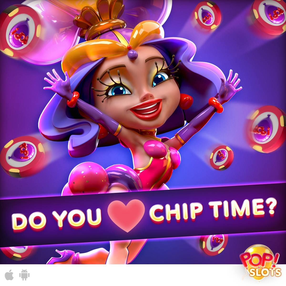 It's CHIP TIME Tuesday! Relax, Spin and Win with newest