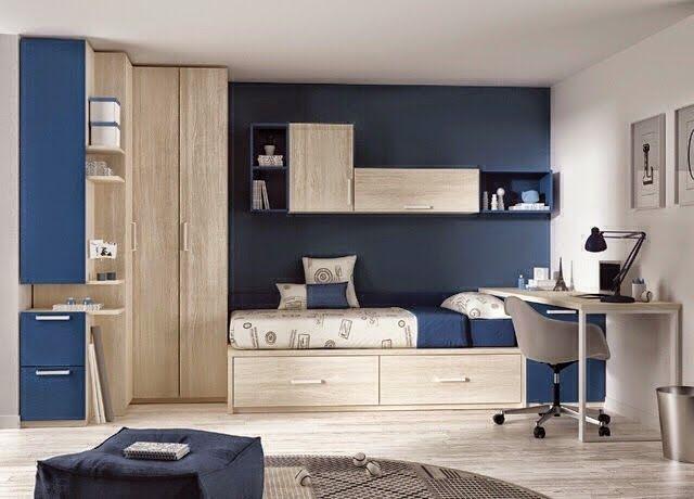 decorar habitacion azul y gris  Buscar con Google  mi