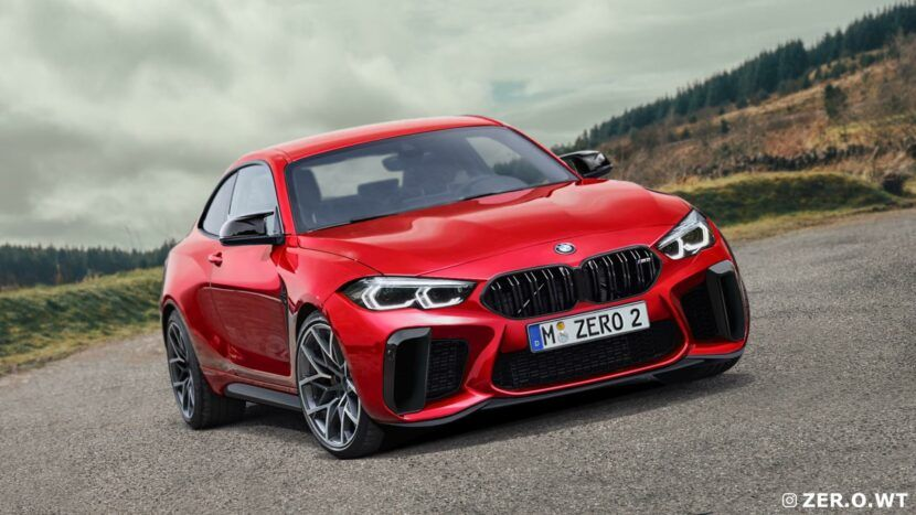 Next Gen 2022 Bmw M2 G87 Gets First Renderings In 2020 Bmw M2 Bmw New Bmw