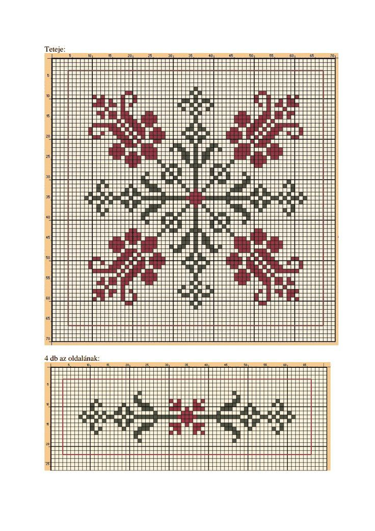 Cross-stitch Biscornu... no color chart available, just use pattern chart as your color guide.. or choose your own colors... t20120321.pdf - Google Drive