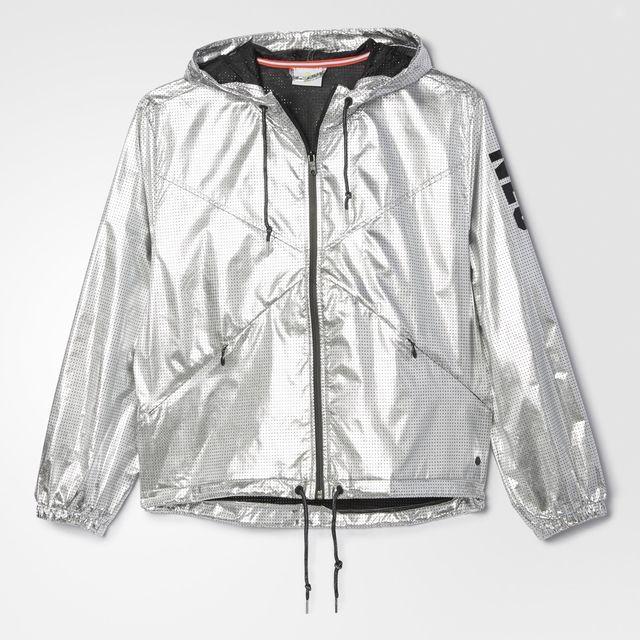 6727c9a7a adidas Women's Silver Windbreaker - Silver | adidas Canada | My ...