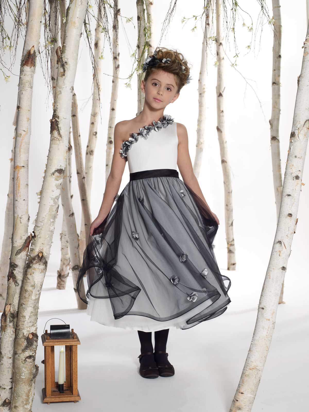 Joan calabrese style 211305 ivory joancalabrese flowergirl flower girl dresses joan calabrese style 211305 ivory joancalabrese flowergirl oneshoulder one shoulder ombrellifo Choice Image