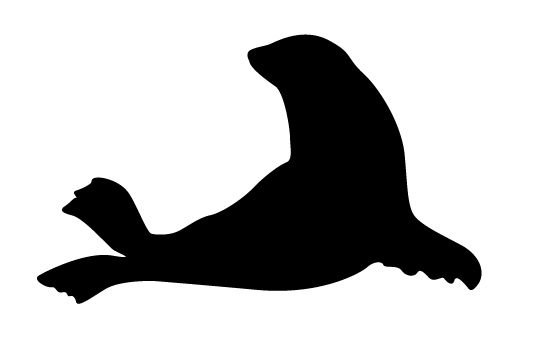 Pin By Silhouette Clip Arts On Diy Crafts Animal Silhouette Fish Silhouette Silhouette Vector