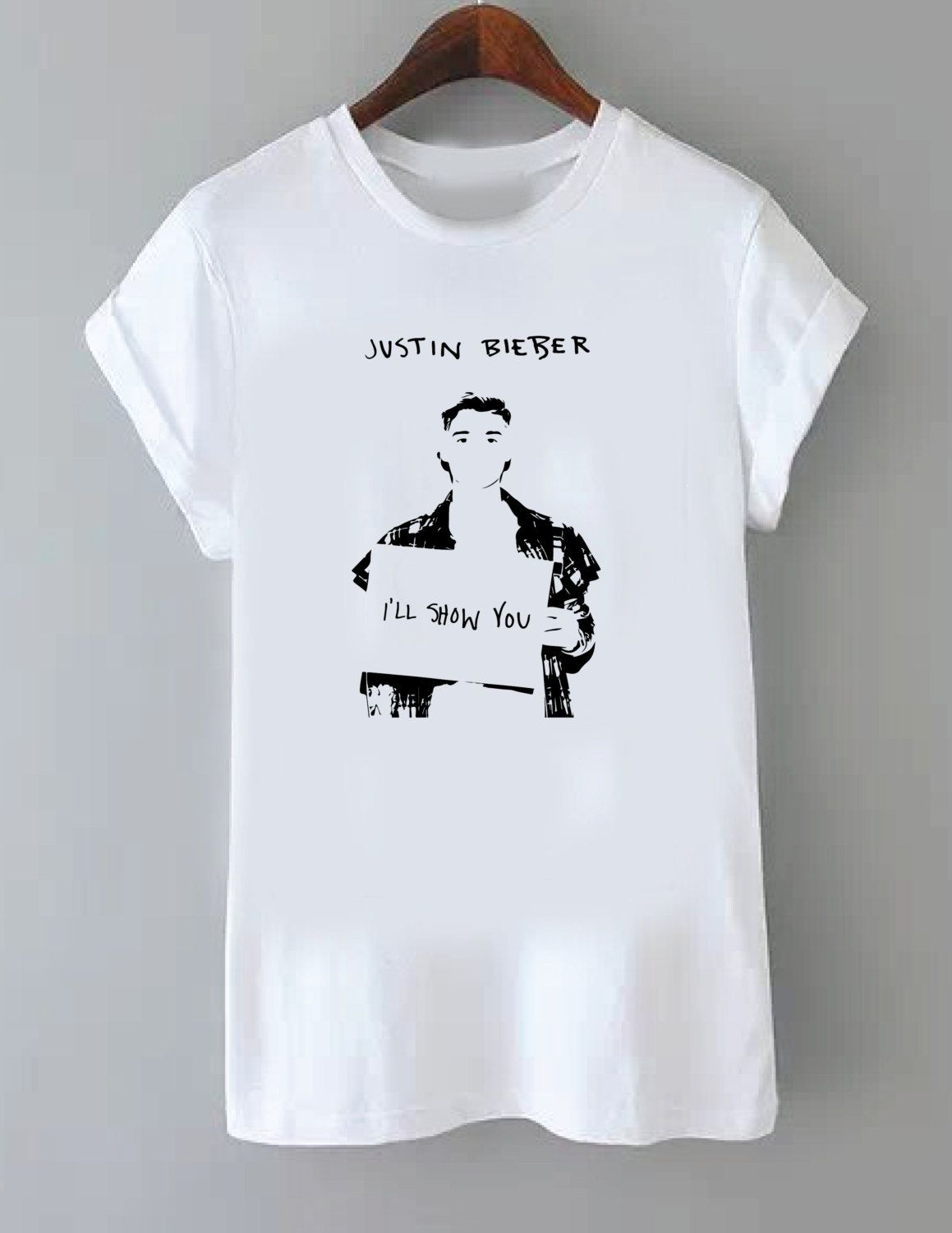 Justin Bieber Tattoos Crop Top by WastedKiss on Etsy | styles i ...