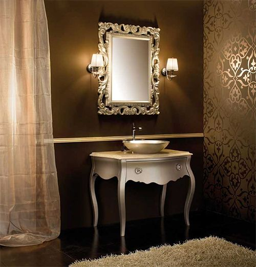 Gorgeous Bathroom Vanities by Arte Bagno Veneta | Gold bathroom ...