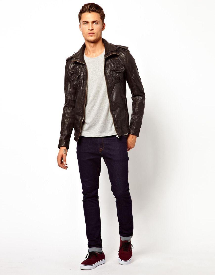 Superdry Ryan Leather Jacket