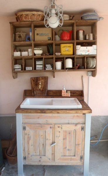 Lavello da cucina per esterno mobili fai da te pinterest mobili fai da te mobili e branding - Mobili per lavello ...