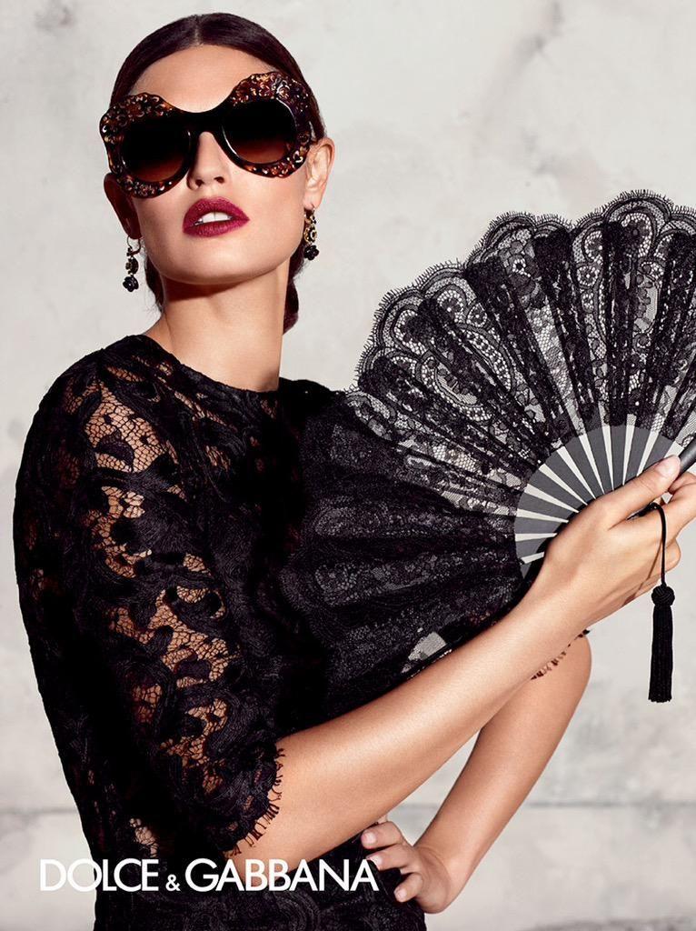 Dolce&Gabbana on Бьянка балти, Итальянский шик, Веер