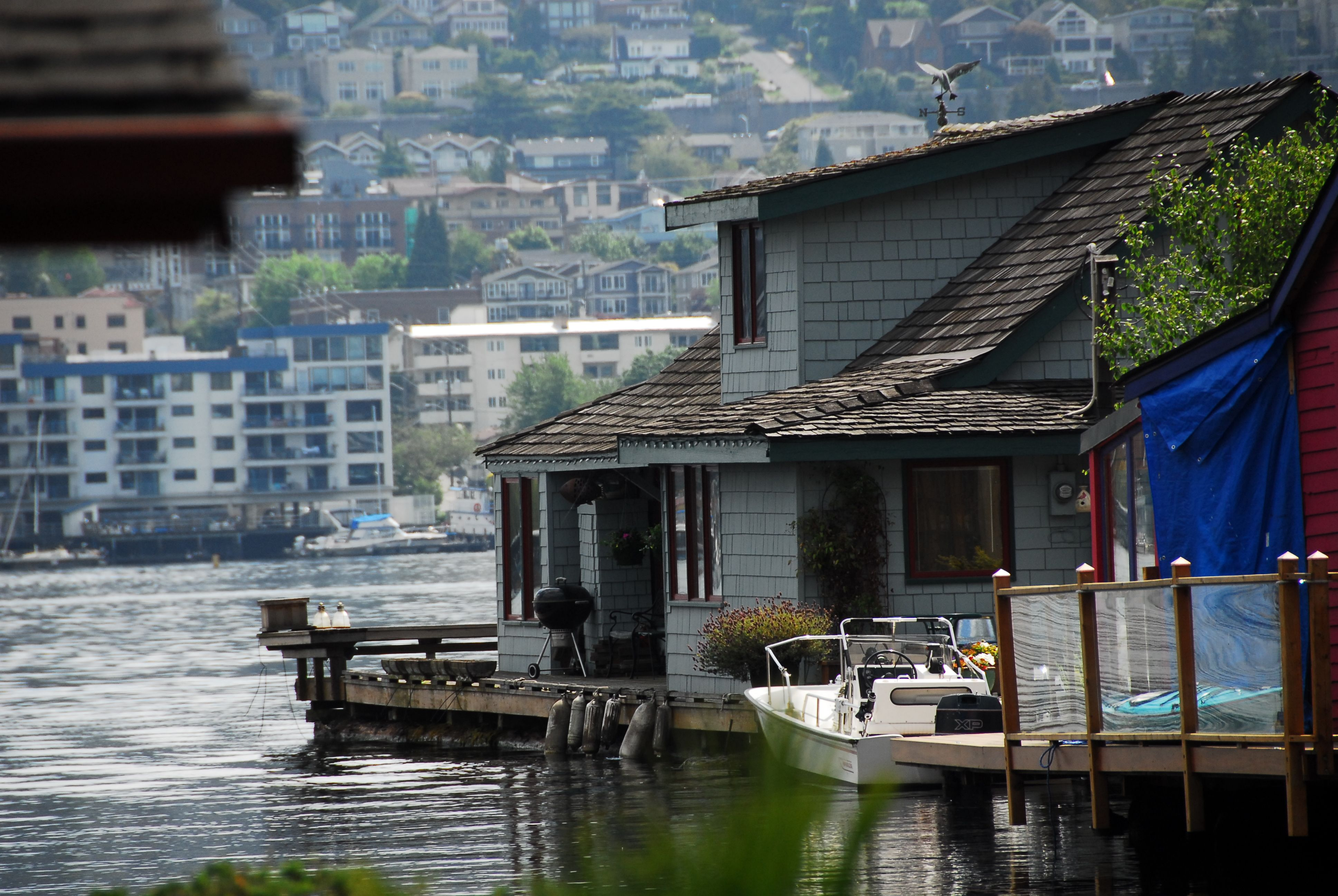 Sleepless In Seattle Boathouse 2460 Westlake Avenue North