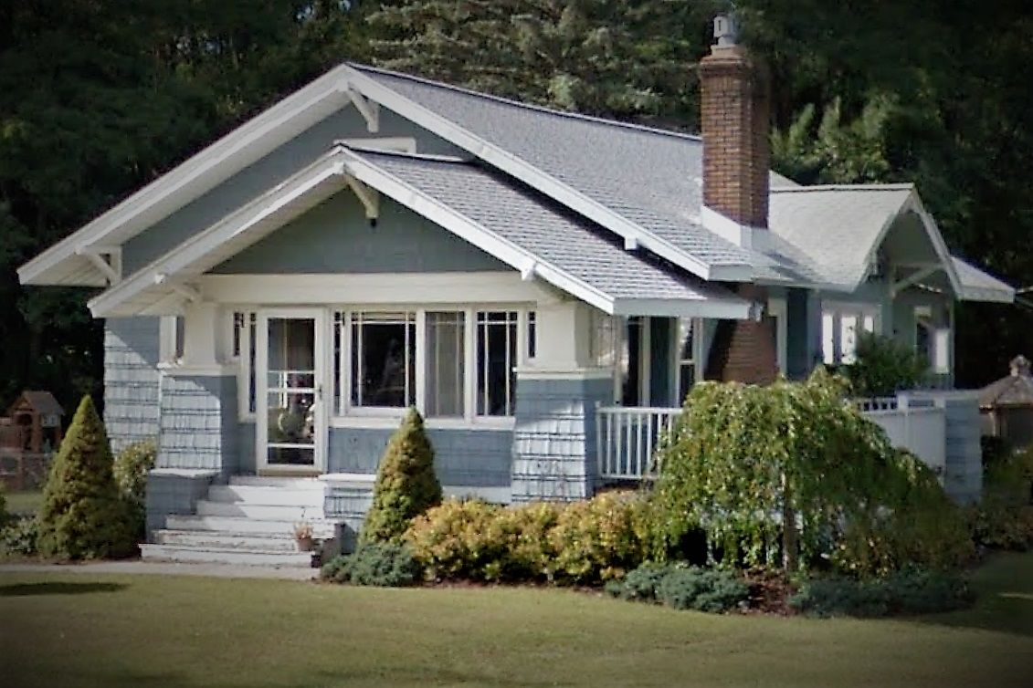 Craftsman Style Home W Enclosed Porch Enclosed Front Porches