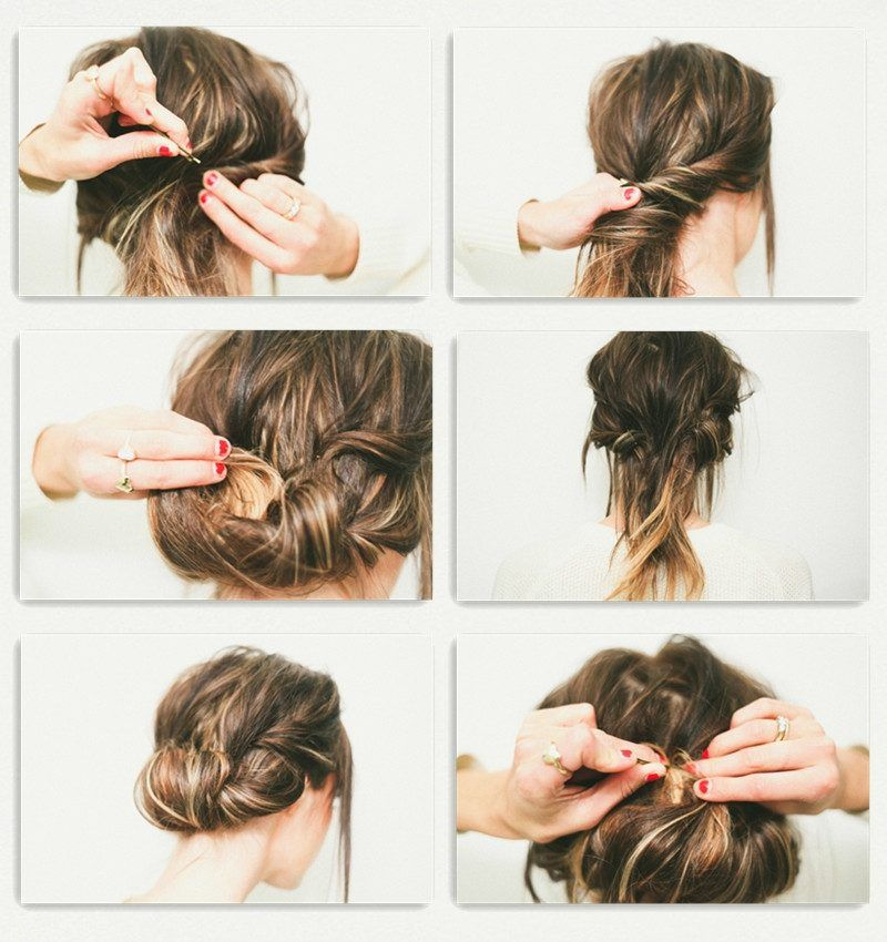 Simple Diy Hairstyles Everyday: 30 Simple Updos To Make Yourself