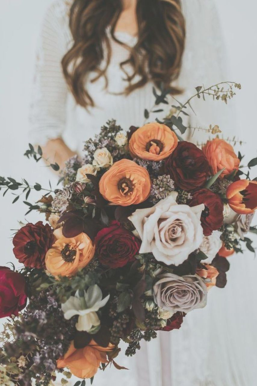 The perfect Autumn Winter Wedding from House of Hud and The Arabian Tent Company  FARBE BURNT ORANGE