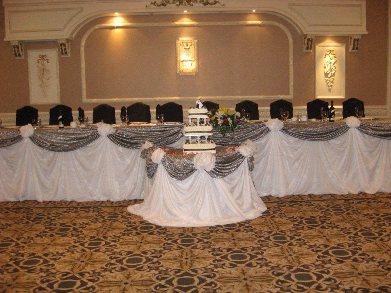 View Wedding Decor: Head Table Wedding Decorations