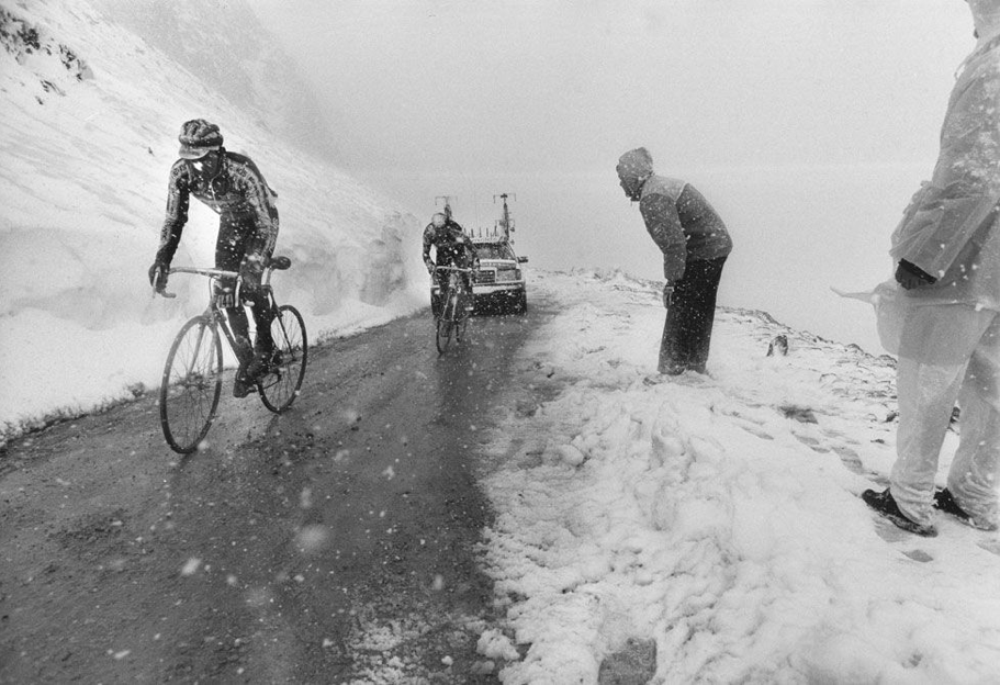Giro D Italia Passo Dello Stelvio 1961 Ciclismo Bici