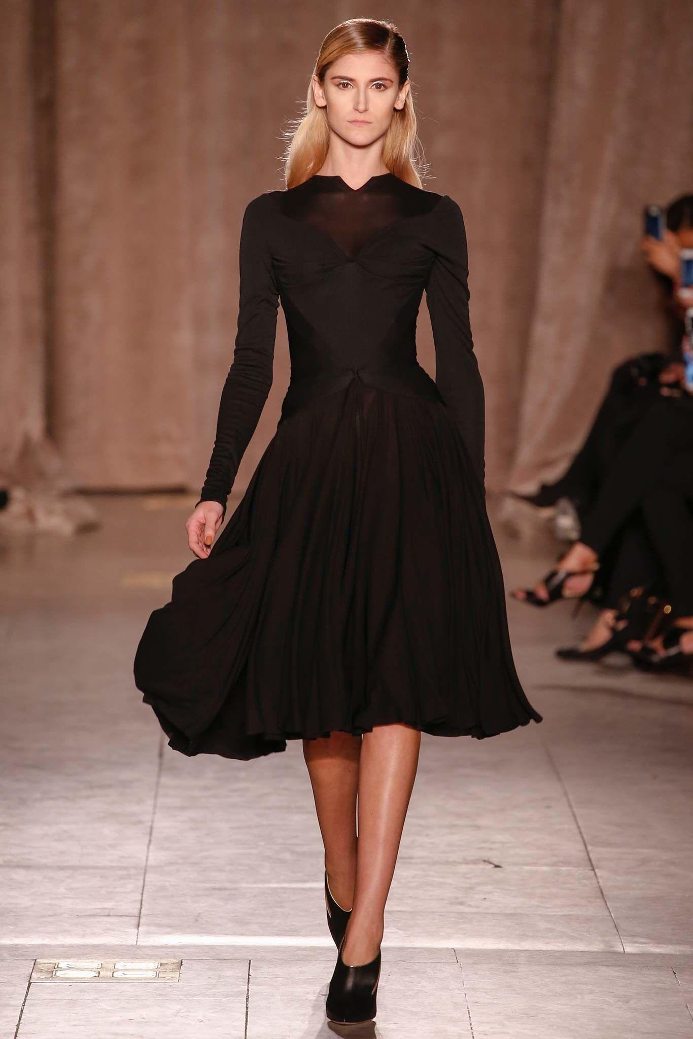 Fashion style Zac fall posen runway for lady
