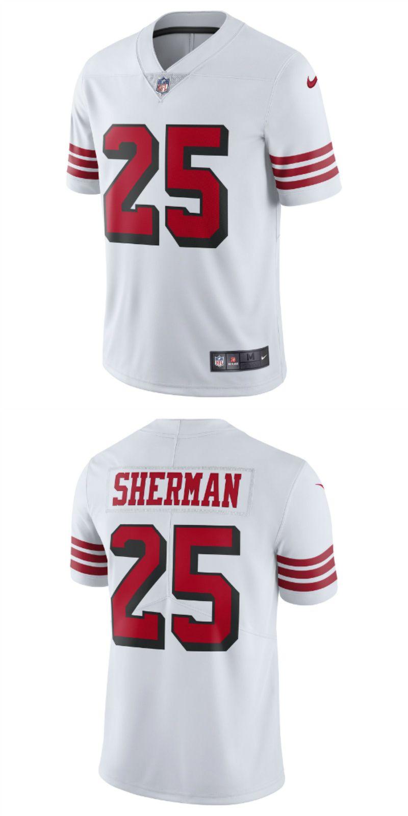 Richard Sherman San Francisco 49ers Nike Game Jersey Scarlet