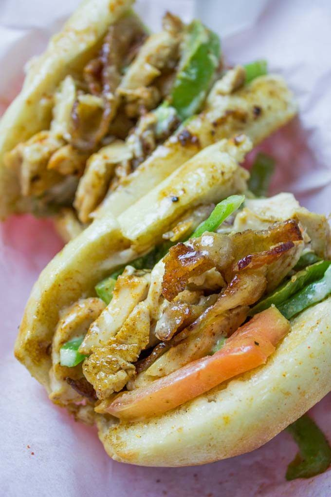 Chicken Madness Philly Sub Sandwiches Are A Georgetown University Tradition And An Amazing Alternative To Yo Sub Sandwiches Hoagie Sandwiches Soup And Sandwich