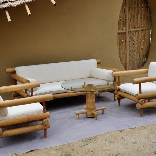 High Quality Bamboo Furniture At Chiangmai Life Construction