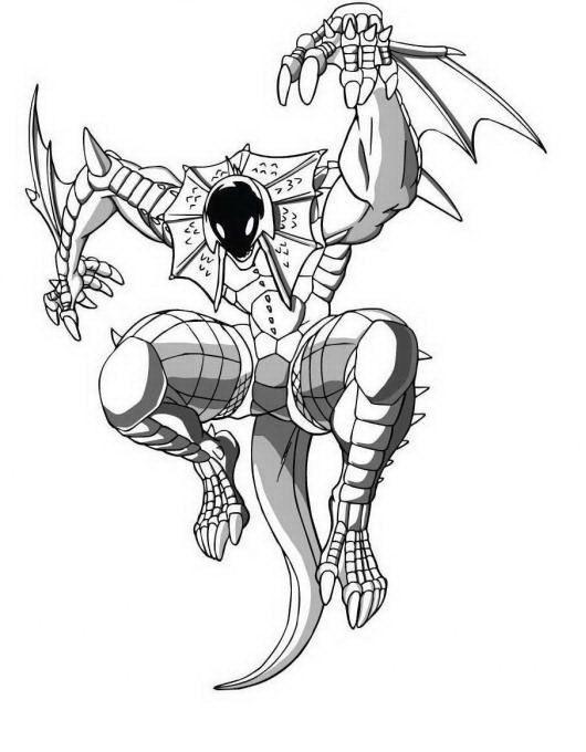 Desenhos Para Pintar Bakugan 24 Com Imagens Paginas Para