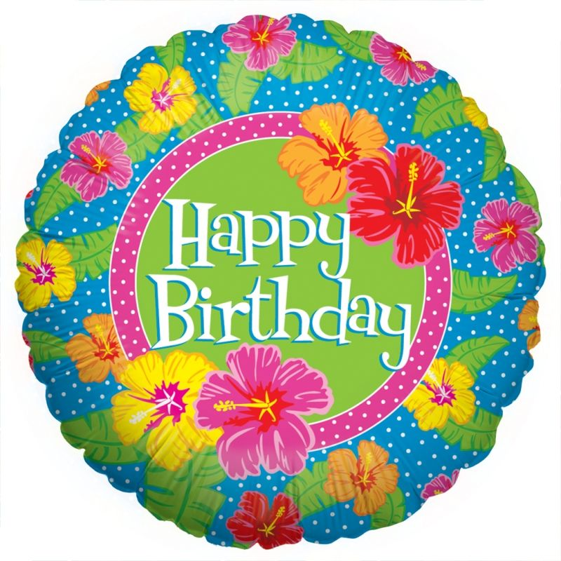 Gallery For > Happy Birthday Tropical Flower