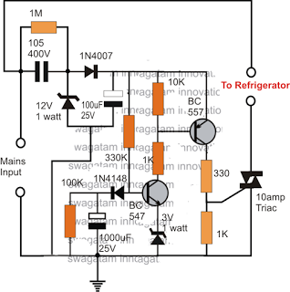 Simple Refrigerator Protector Circuit in 2019 | Electrical ... on appliance service, microwave repair diagrams, waring parts list diagrams, crosley parts diagrams, amana appliance diagrams, power distribution diagrams, appliance parts, troubleshooting diagrams, appliance installation,