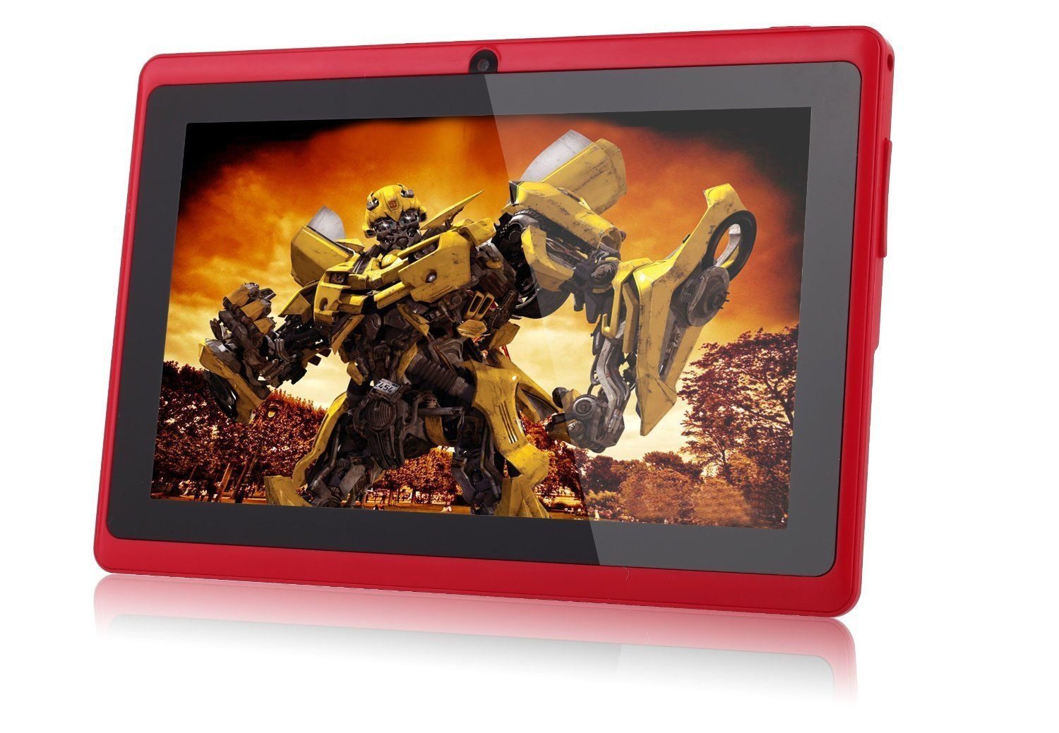 FastTouch(TM) 7'' Tablet PC 4GB - RED, Allwinnwer A13 Boxchip Cortex A8 Android 4.1, 512MB Ram, Multiple Touch...