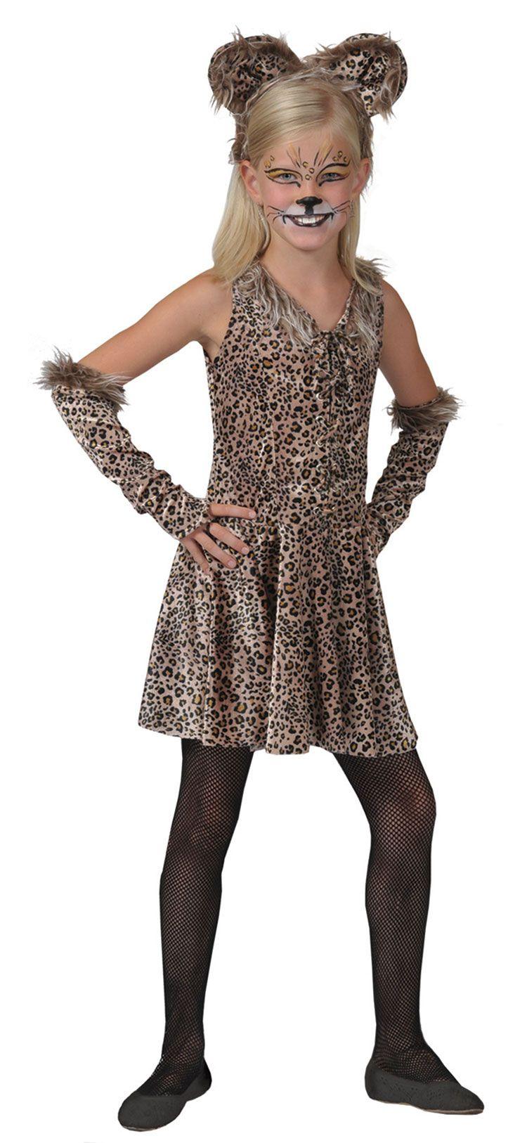4661c749b0bf Girls Leopard Costume - Kids Costume | Halloween in 2019 | Leopard ...